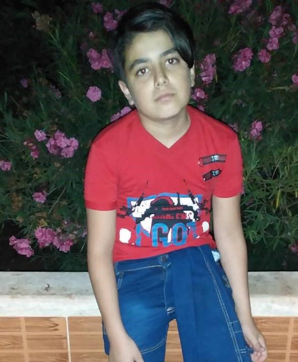 الطفل سعد الدين - زيتون